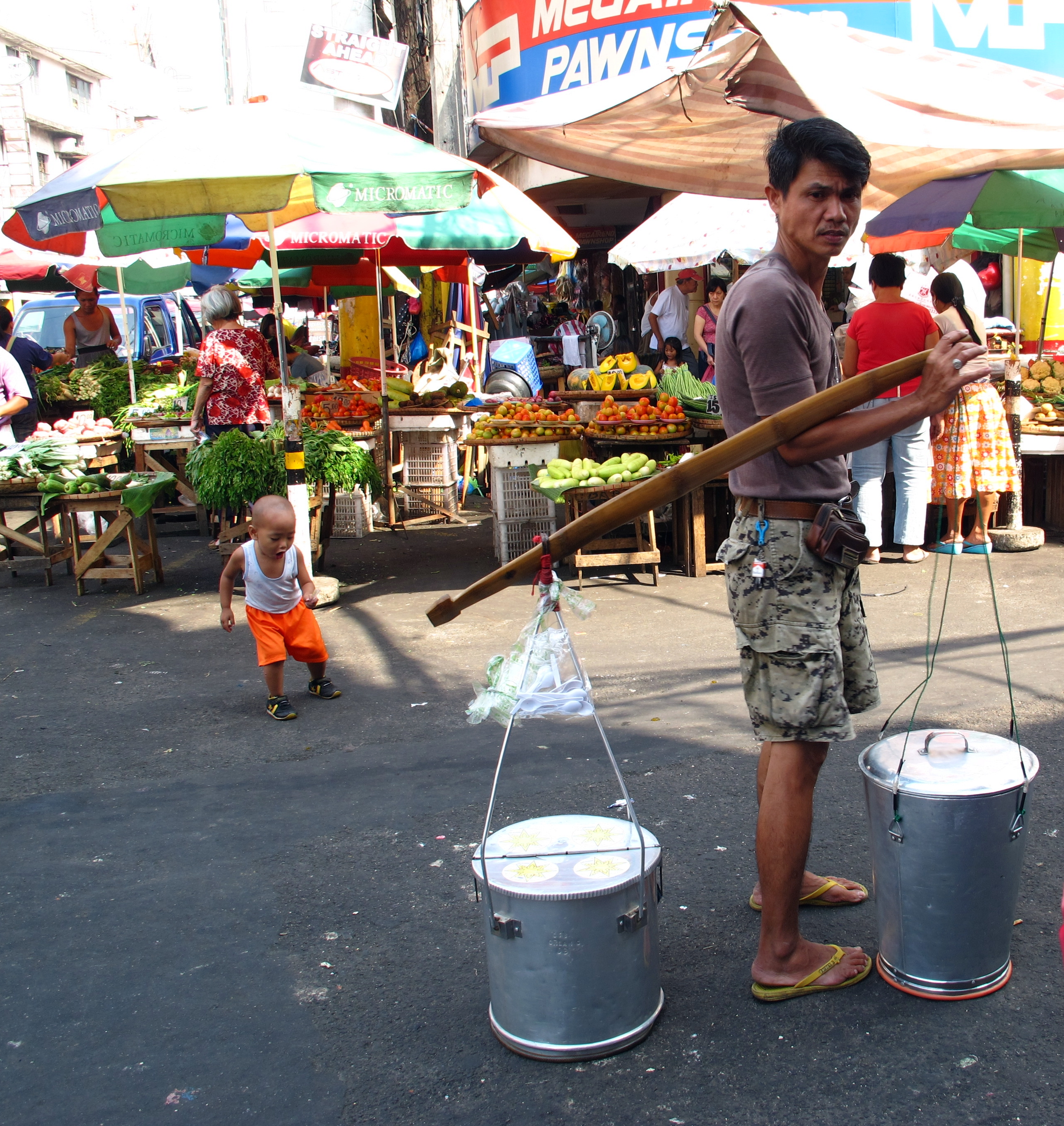 """Selling: The Life Of Being A Filipino: Filipino Vendors """"a Happy"""