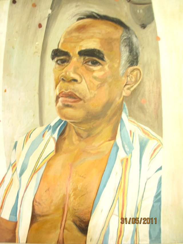 A Painting of Dr. Joven Cuanang