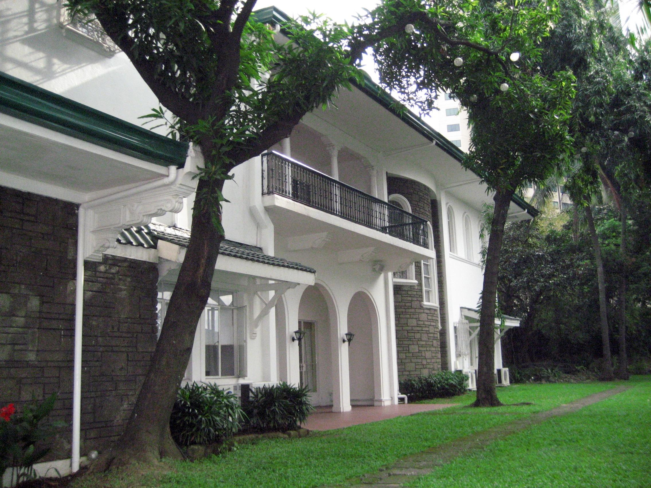 Jose laurel lifeisacelebration for The laurel house