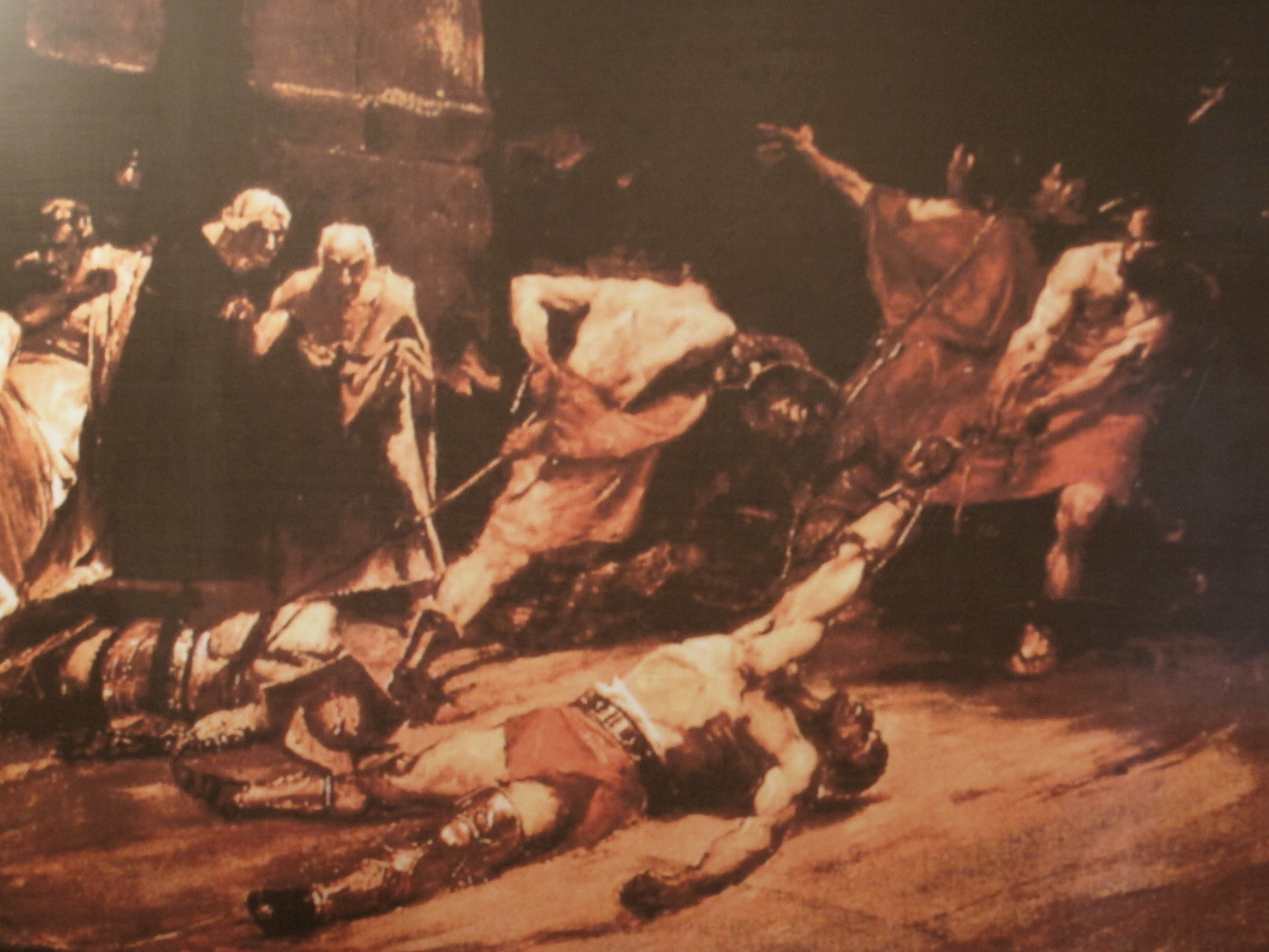 spolarium painting of juan luna means Juan luna's spoliarium depicts a  understood very well the message conveyed in the painting in one post-celebration of luna's and  art on spolarium) .