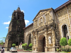 Paete Church, one of many around Laguna de Bay.