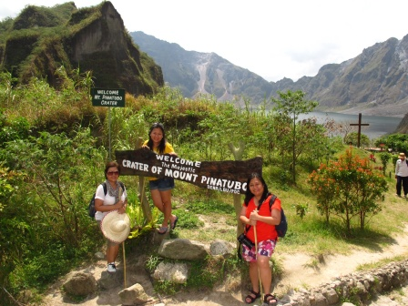 We conquered Mount Pinatubo!