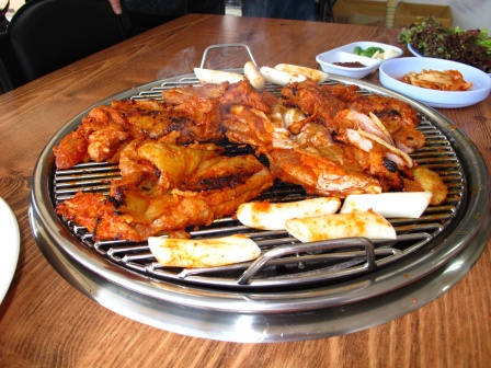 In seoul, we feasted on Korean food like there was no tomorrow.