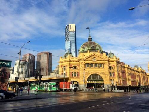 Flinders Train Station