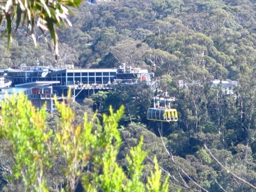 Cablecar takes you right to Katoomba's iconic landmark -- The Three Sisters in Echo Point.