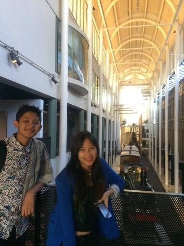 A Day In The City: Well spent in the Powerhouse Museum.  Just $35 for the 3 of us. 2 adults+1 kid.