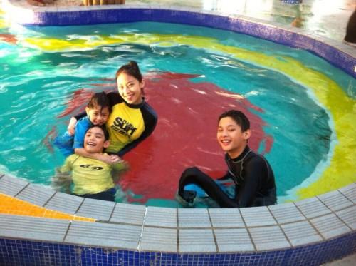 Late Autumn Indoor Swimming