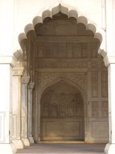 Moti Masjid  (Pearl Mosque) inside Agra Fort