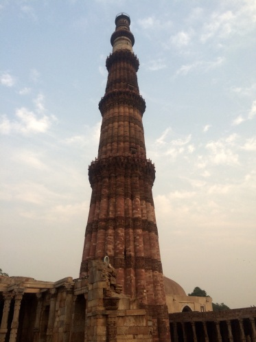 The 2nd tallest minaret in India, just a few kilometers south of Delhi.