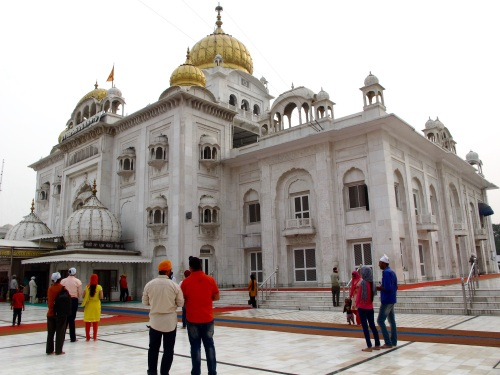 The Sikh Temple in New Delhi