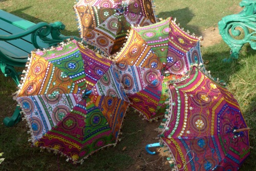 Parasols In Lovely Colors
