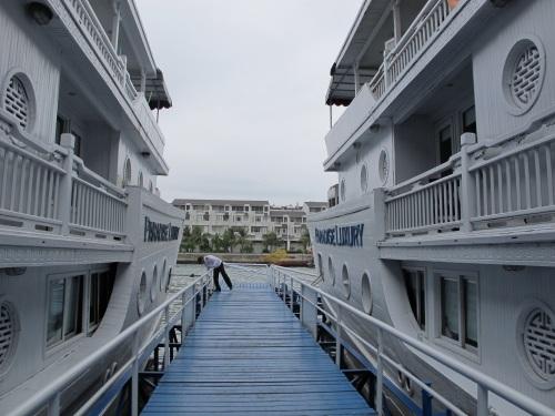 Boarding Time! (Paradise Luxury @Halong Bay)