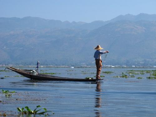 Fishing In Inle Lake